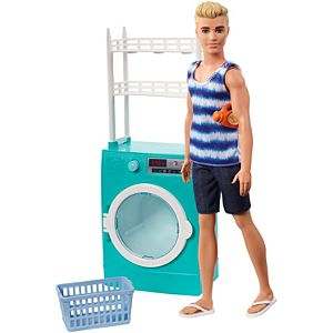 Barbie Ken Laundry Room Playset