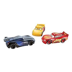 Disney Pixar Cars Racetrack Talkers Vehicle Collection