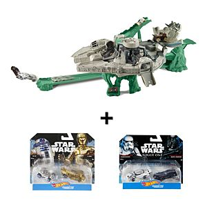Hot Wheels® Star Wars™ Millennium Falcon™ & Character Cars Gift Set