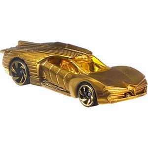 Hot Wheels® DC Comics™ Wonder Woman™ Gold Armor Vehicle