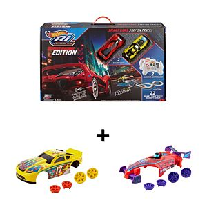 Hot Wheels® Ai Street Racing Edition & Car Accessories Gift Set