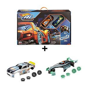Hot Wheels® Ai Race System & Car Accessories Gift Set