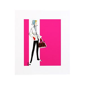 Barbie Art Print—Winter Holiday