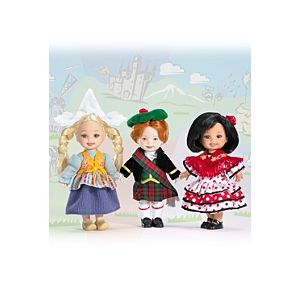 Kelly® Friends of the World™ Dolls