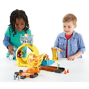 Nickelodeon™ Blaze and the Monster Machines™ Axle City Monster Stunts Track Set