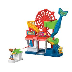 Imaginext® Disney Toy Story Carnival Playset with Woody Figure