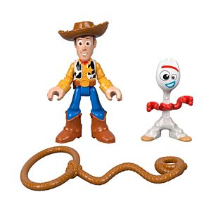 Imaginext® Disney Pixar Toy Story Woody & Forky Figure 2-Pack