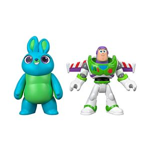 Imaginext® Disney Pixar Toy Story Buzz Lightyear & Bunny Figure 2-Pack