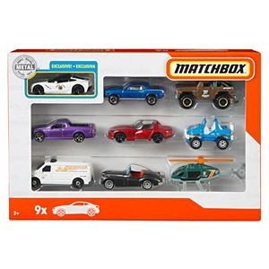 Matchbox Basics 9 Pack