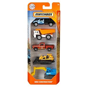 Matchbox™ Mbx Construction™ Vehicles 5-Pack
