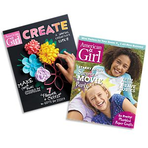 American girl magazine single issues american girl american girl magazine create combo pack reheart Choice Image