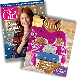 American Girl magazine: Holiday Combo Pack
