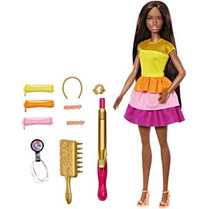 Barbie® Ultimate Curls™ Doll and Playset