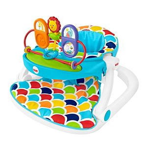 Deluxe Sit-Me-Up Floor Seat with Toy Tray
