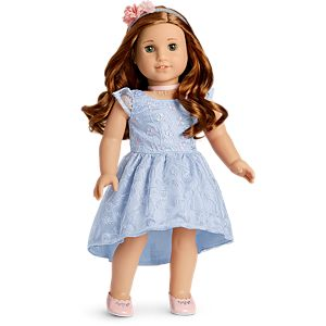 Blaire's Bridesmaid Dress for 18-inch Dolls