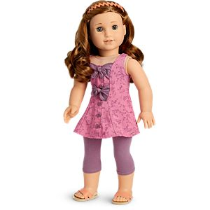 Blaire's Floral Flair Outfit for 18-inch Dolls