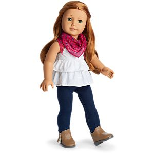Western Chic Outfit for 18-inch Dolls