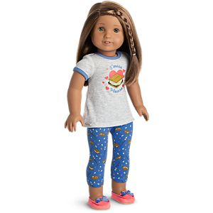 S'more Fun Pajamas for 18-inch Dolls