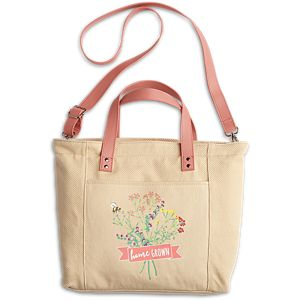 Floral Tote for Girls