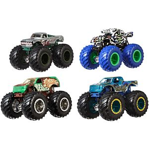 Hot Wheels® Monster Trucks 1:64 4-Pack Collection