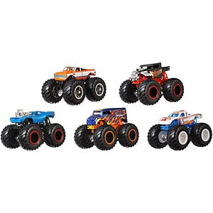 Hot Wheels® Monster Trucks 5-Truck Pack Exclusive Truck 3 Years and Up