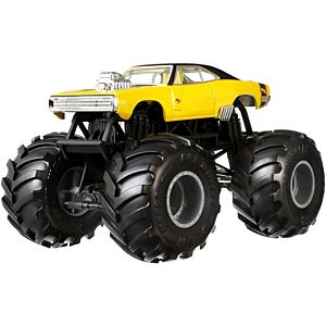 Hot Wheels® Monster Trucks 1970 Dodge Charger R/T 1:24 Scale Vehicle