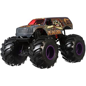 Hot Wheels® Monster Trucks One Bad Ghoul 1:24 Scale Vehicle