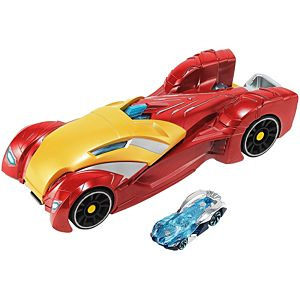 Hot Wheels® Marvel Iron Man Launcher Vehicle