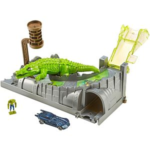 Hot Wheels® DC Killer Croc Sewer Escape Playset