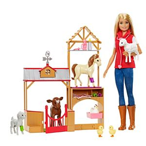 Barbie® Sweet Orchard Farm™ Doll and Barn Playset