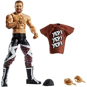 WWE® Sami Zayn™ Elite Collection Action Figure