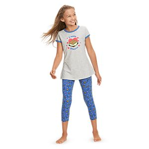 S'more Fun Pajamas for Girls