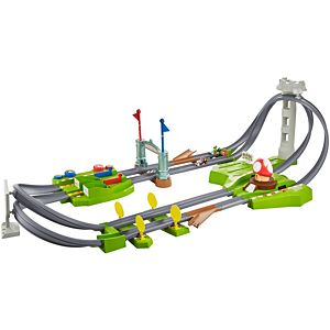 Hot Wheels® Mariokart Mario Circuit Lite Track Set