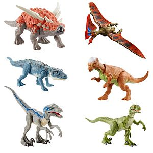 Jurassic World Savage Strike™ Dinosaur Action Figure Collection