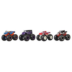 Hot Wheels® Monster Trucks 1:64 WWE Themed Collection