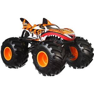 Hot Wheels® Monster Trucks Tiger Shark 1:24 Scale Vehicle