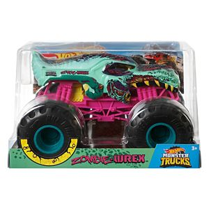Hot Wheels® Monster Trucks Zombie Wrex 1:24 Scale Vehicle