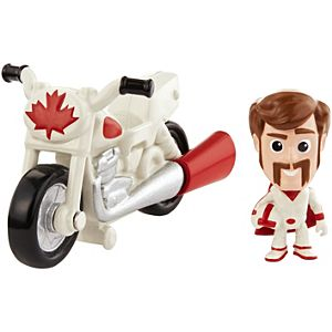 Disney Pixar Toy Story Mini Duke Caboom and Stunt Bike