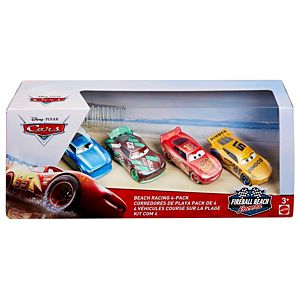 Disney/Pixar Cars Fireball Beach Racers 4-Pack