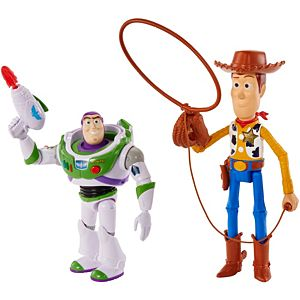 Disney Pixar Toy Story Woody and Buzz Lightyear Arcade 2-Pack