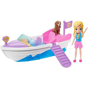Polly Pocket Ahoy Adventure Speedboat