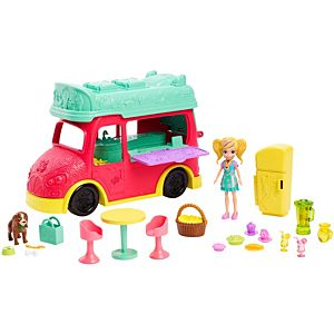Polly Pocket® Swirlin' Smoothie Truck