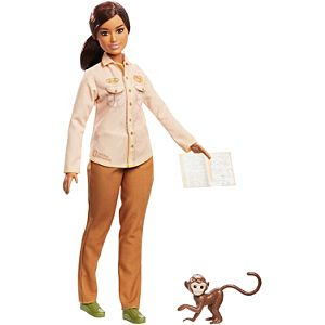 Barbie® Wildlife Conservationist Doll, Brunette, Inspired by National Geographic