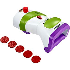 Disney Pixar Toy Story Buzz Lightyear Rapid Disc Blaster