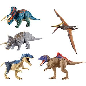 Jurassic World Dual Attack Dino Action Figure Collection