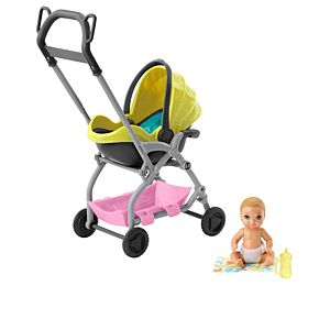Barbie® Skipper® Babysitters INC™ Doll & Playset