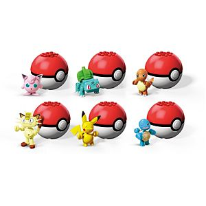 Mega Construx™ Pokemon™ Poke Ball Collection