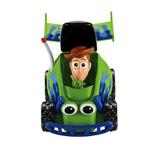 Disney Pixar Toy Story RC & Woody Pop-Up Racer