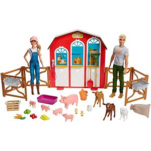 Barbie® Sweet Orchard Farm™ Dolls, Playset and Accessories