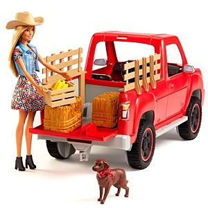 Barbie Sweet Orchard Farm Doll, Vehicle and Accessories